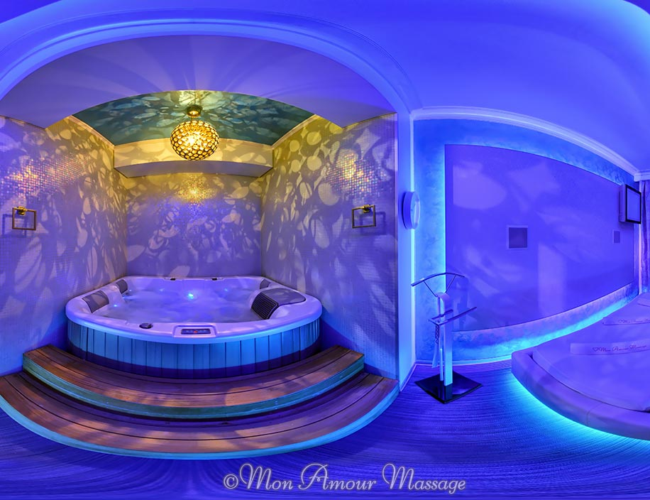 The Mon Amour erotic massage parlour Bucharest - Room 2